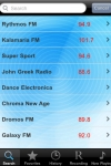 Radio Greece - Alarm Clock + Recording /   -  + screenshot 1/1