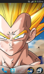 majin vegeta livewallpaper screenshot 2/3
