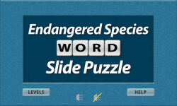 Endangered Species Word Slide Puzzle Free screenshot 1/3