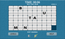 Endangered Species Word Slide Puzzle Free screenshot 3/3