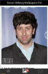 Simon Helberg Wallpapers for Fans screenshot 2/6