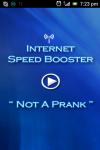 Internet Booster not a prank screenshot 1/6