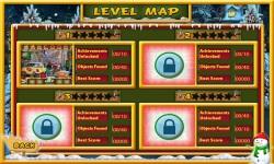 Free Hidden Object Game - Christmas Town screenshot 2/4