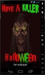 Killer Halloween Live Wallpaper screenshot 1/2