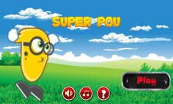 Super Pou Run Game screenshot 1/3