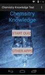 Chemistry Knowledge Test screenshot 1/4