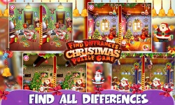 Find Differences Christmas Kids Game screenshot 2/3