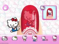 Hello Kitty Nail Salon screenshot 2/3