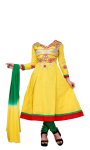 Pic of Anarkali dress suit photo  screenshot 4/4