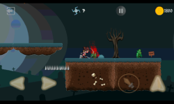 Ninja Knight VS Demons : Sword Fighting Platformer screenshot 1/4