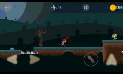 Ninja Knight VS Demons : Sword Fighting Platformer screenshot 2/4