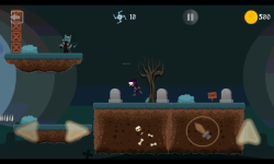 Ninja Knight VS Demons : Sword Fighting Platformer screenshot 3/4