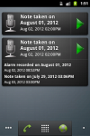 GT Voice Notes and Alarms screenshot 2/4