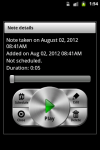 GT Voice Notes and Alarms screenshot 3/4