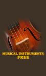 Musical Instruments Free screenshot 1/3
