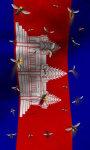 Cambodia flag Free screenshot 2/5
