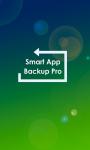 Smart App Backup Pro screenshot 1/3