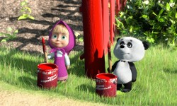 Masha And The Bear HD Wallpapers screenshot 1/6