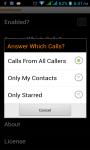 Auto Answer Call screenshot 2/5