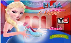 Elsa Magic Shoes screenshot 1/4