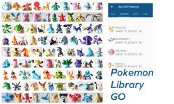 Pokemon Library GO screenshot 1/3