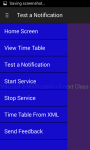 Time Table Notifier screenshot 4/6