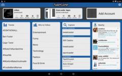 TweetCaster Pro for Twitter proper screenshot 2/6
