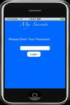 My Secrets App screenshot 1/1