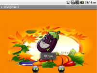 KIDS Vegetable screenshot 1/4