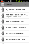 RNB Music Radio Rhythm And Blues screenshot 1/4