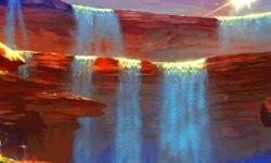 Fantasy Waterfall Live Wallpaper screenshot 2/3