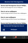 Bosnia and Herzegovina Soccer Wallpaper screenshot 2/5
