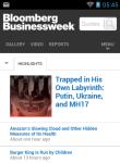 BUSINESS WEEK Reader screenshot 1/6