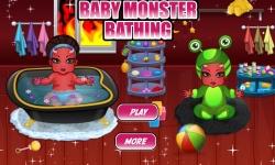 Baby Monster Bathing screenshot 2/3