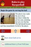 Rules to play Racquetball screenshot 4/4