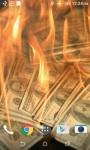Burning Money Live Wallpaper screenshot 3/4