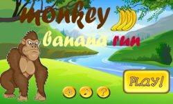 Monkey Banana Run screenshot 1/3