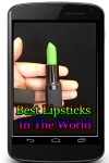 Best Lipsticks In The World screenshot 1/3