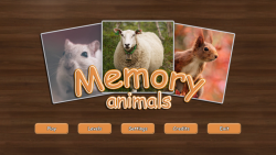 Memory - Animals screenshot 1/4