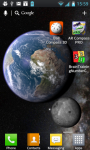 Earth and Moon in HD Gyro 3D PRO absolute screenshot 6/6