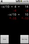 Algebra Tutor screenshot 1/1