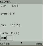 Cricket Scorer screenshot 1/6