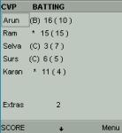 Cricket Scorer screenshot 4/6