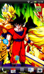 DragonBall Goku Water Effec Lwp X screenshot 1/6