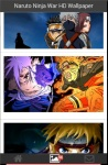 Naruto Ninja War HD Wallpaper screenshot 1/6