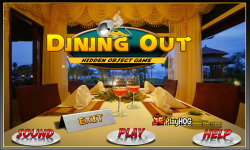 Free Hidden Object Games - Dining Out screenshot 1/4