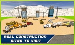 Heavy Machine Transport Truck screenshot 2/4