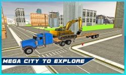 Heavy Machine Transport Truck screenshot 3/4