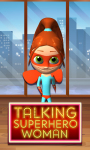 Talking Superhero Woman screenshot 1/6