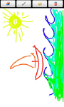Toddler Paint Lite w/ child lock screenshot 2/3